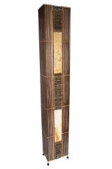 bodenlampe bambus zweigen und rinde 180cm naturesco. Black Bedroom Furniture Sets. Home Design Ideas
